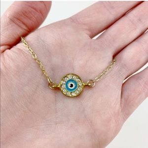 Katy Ginger Designs Jewelry - NWT KATY GINGER DESIGNS Evil Eye Necklace